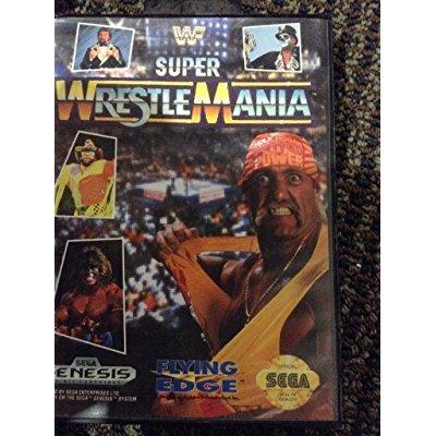 WWF Super Wrestlemania Sega Genesis by
