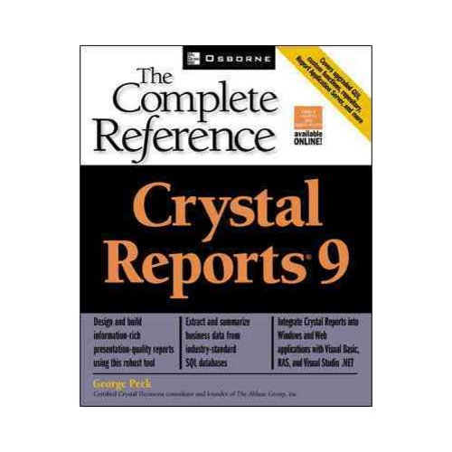 Crystal Reports 9: The Complete Reference