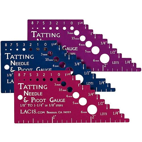 Tatting Needle and Picot Gauge