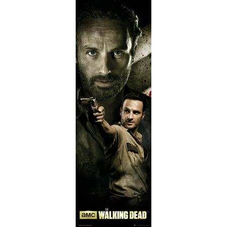 The Walking Dead   Tv Show Door Poster   Print  Rick Grimes   Size  21  X 62