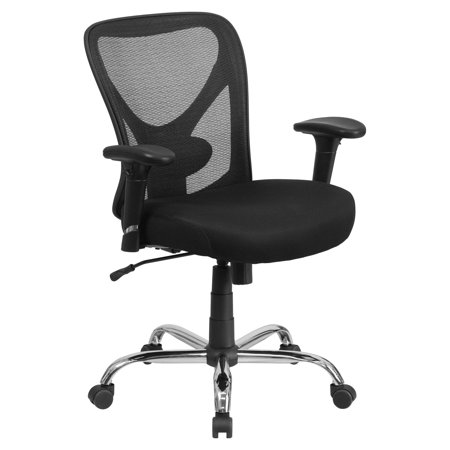 Flash Furniture Hercules Series 400 Lb Capacity And Tall Black Mesh Swivel Task Chair With