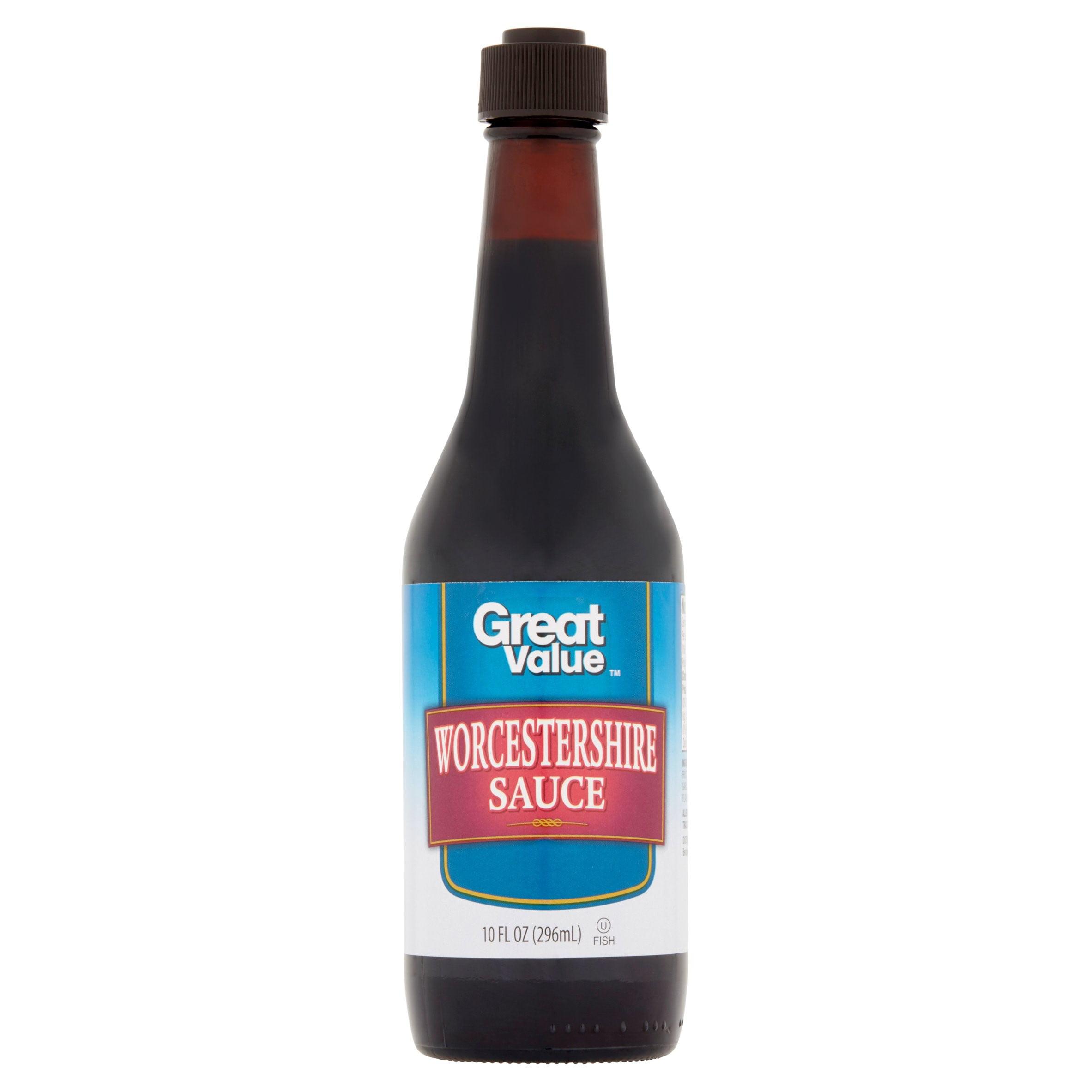 Great Value Worcestershire Sauce, 10 oz - Walmart.com