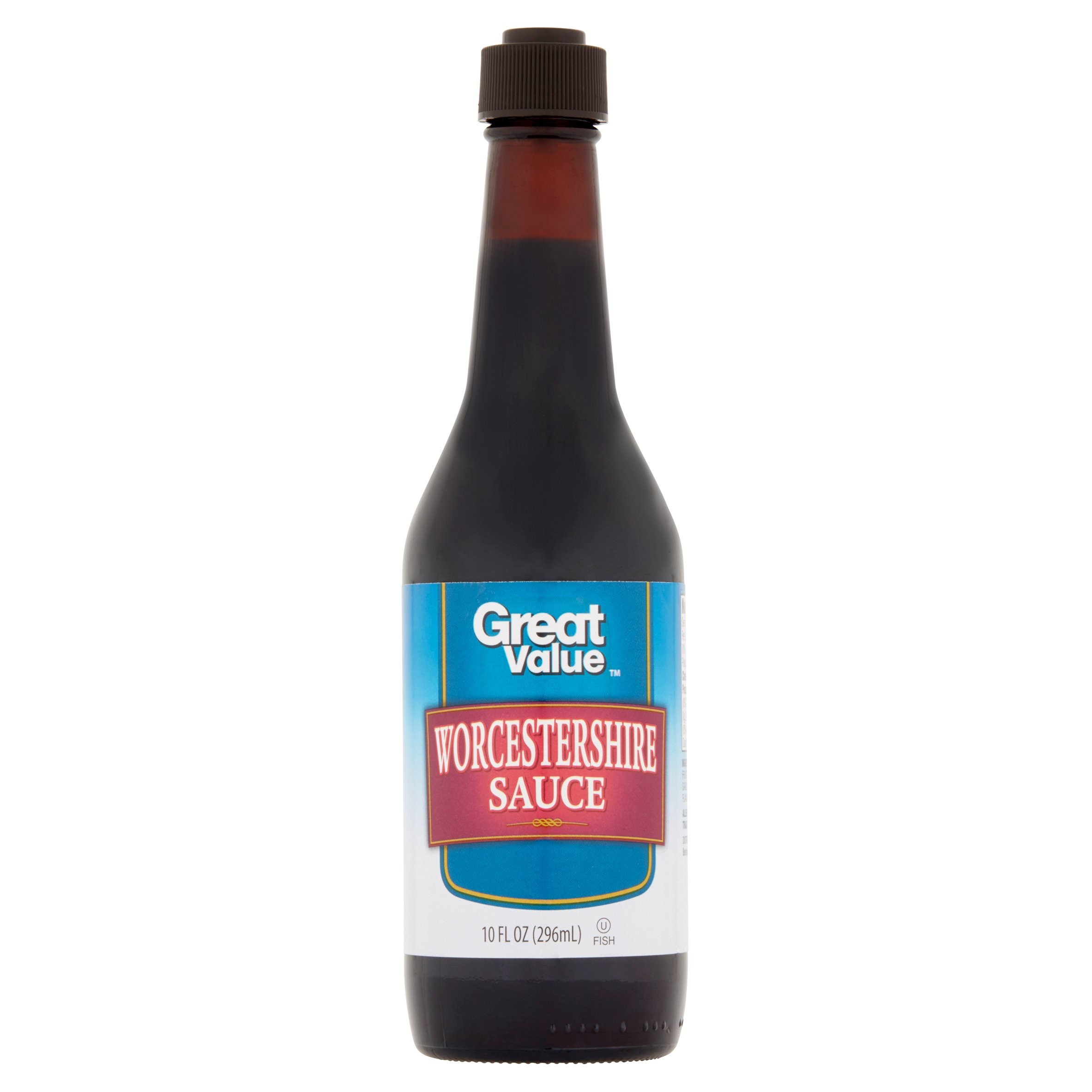 (4 Pack) Great Value Worcestershire Sauce, 10 oz