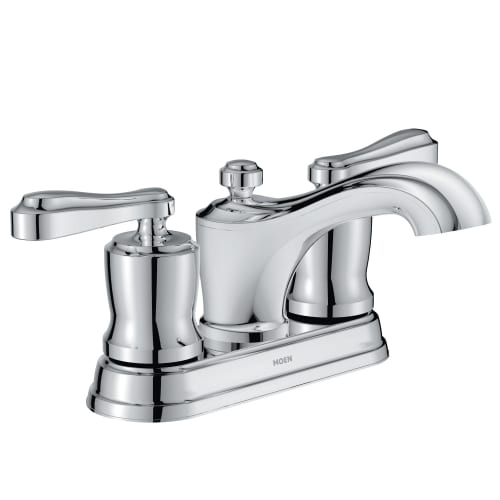 Moen 84340 Belhurst Centerset Bathroom Faucet - Includes Pop-Up Drain Assembly