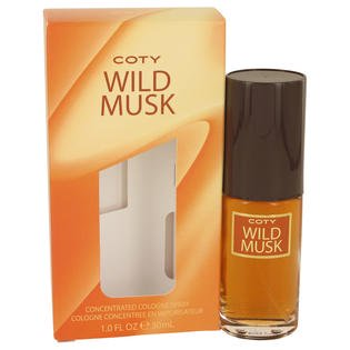 Wild Musk Concentrate Cologne Spray By Coty 1 oz (Coty Concentrate Cologne Spray)