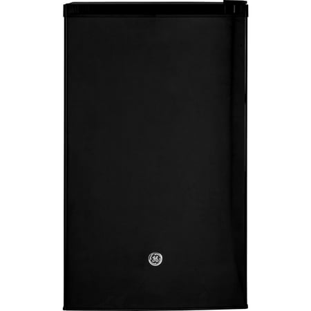 GE Appliances 4.4 Cu Ft Single Door Compact Refrigerator, Black