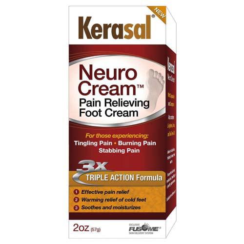 Kerasal Neuro Pain Relieving Foot Cream - 2 Oz