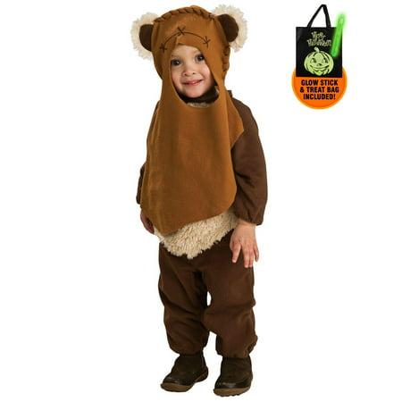 Star Wars - Ewok Infant / Toddler Costume Treat Safety Kit for $<!---->