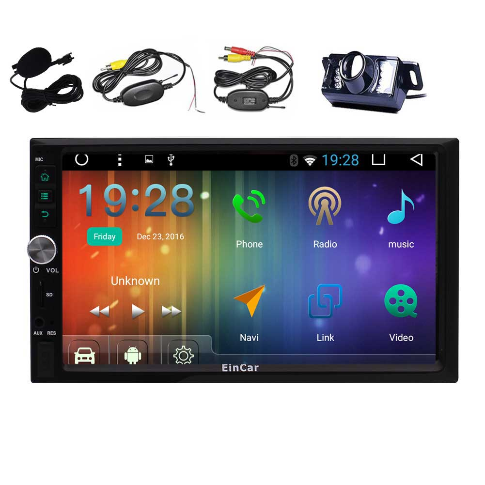 EinCar Android 6.0 Car Stereo 7'' Touch Screen Double Din...