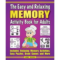The Easy and Relaxing Memory Activity Book For Adults (Paperback)(Large Print)