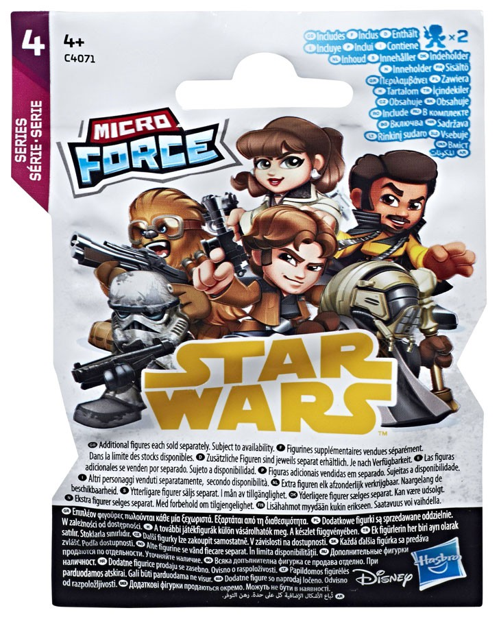 Star Wars Micro Force Series 4 Mystery Pack Blind Bag Party Favours Pack of 10