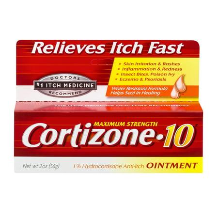 Triamcinolone Acetonide Ointment (Cortizone 10 Anti-Itch Ointment 2oz, Value)
