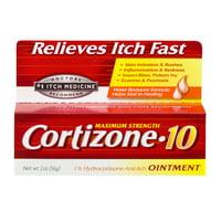 Cortizone-10 Anti-Itch Ointment 2 oz, Value Size