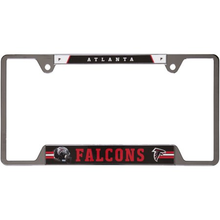 Primary Metal (Atlanta Falcons WinCraft Primary Logo Metal License Plate Frame - No Size)