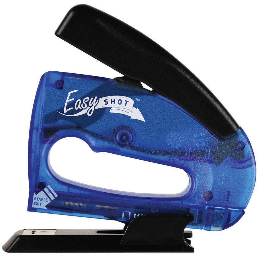 Arrow Fastener 5650DTB-6 Blue Easy Shot Multi-Stapler
