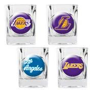 Great American NBA Logo Square Shot Glass Set