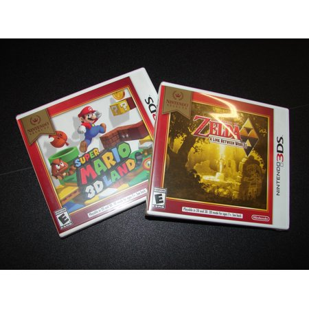 NINTENDO 3DS - 2 GAME DEAL- SUPER MARIO 3D LAND + ZELDA: A LINK BETWEEN
