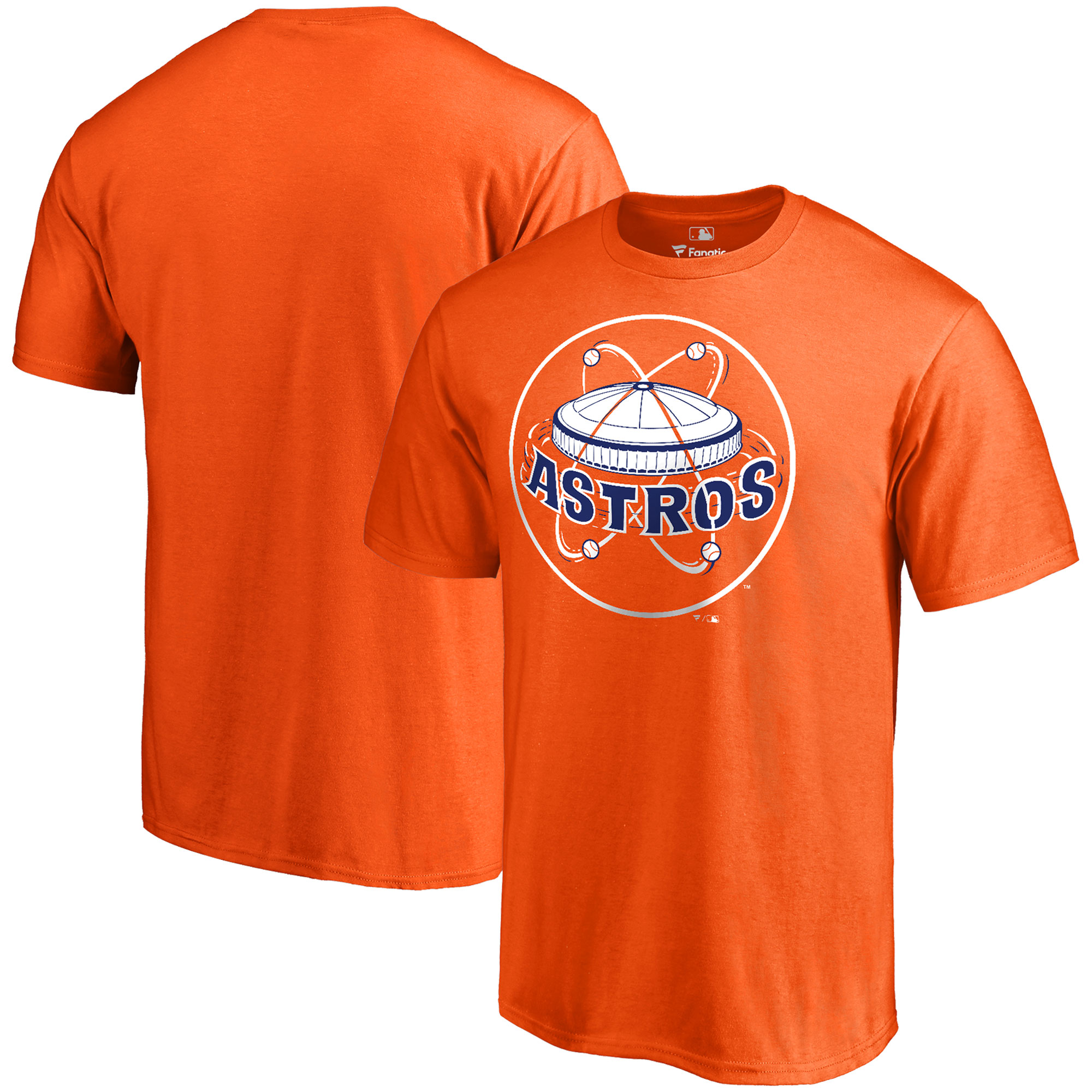Houston Astros Fanatics Branded Cooperstown Forbes T-Shirt - Orange