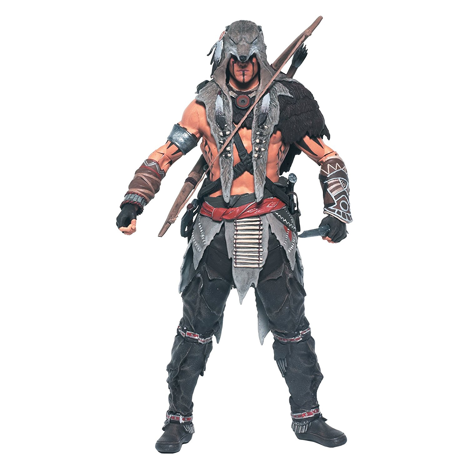 Toys Assassin's Creed Ratonhnhake Ton Action Figure, Figure features 25 points of articulation By McFarlane
