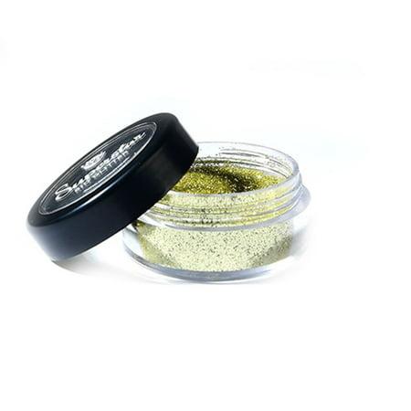 Superstar Biodegradable Loose Fine Glitter - Gold (6 ml), Cosmetic Grade, Ecofriendly Glitter for Face, Body, Hair