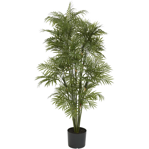 Nearly Natural 4' Plastic Parlor Palm Tree