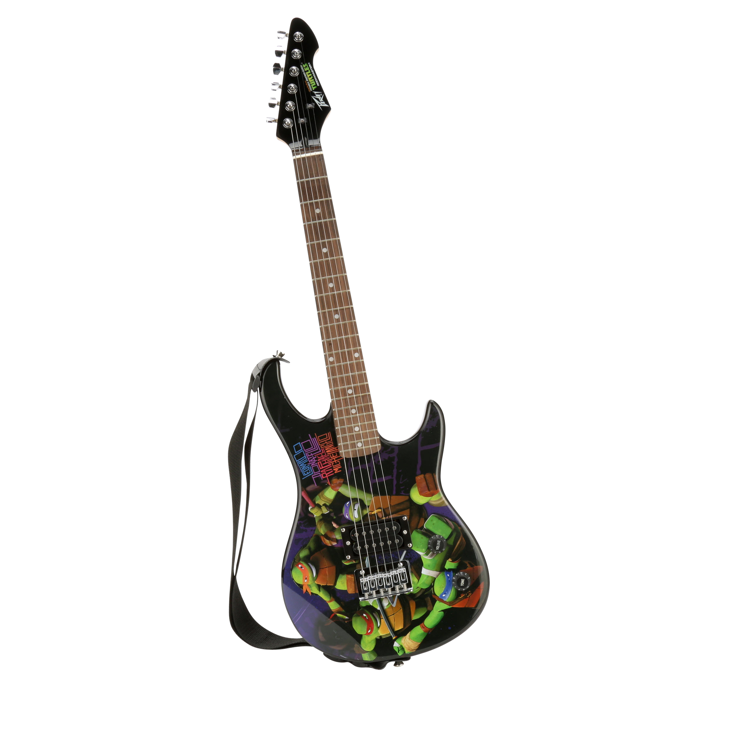 Click here to buy Peavey Nickelodeon Teenage Mutant Ninja Turtles 3 4 Size Electric Rockmaster Guitar by Peavy.