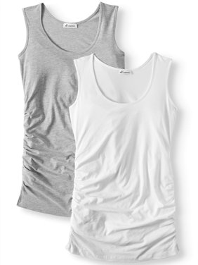 Oh! MammaMaternity tank 2 pack - available in plus sizes