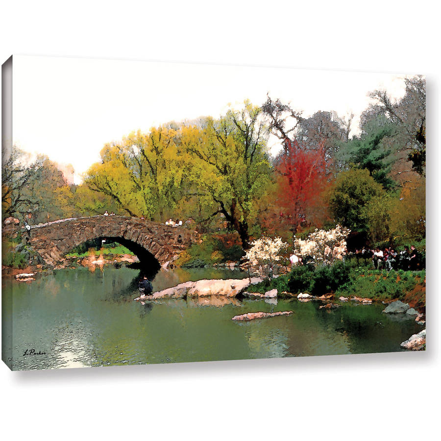"Linda Parker ""Saturday Central Park"" Gallery-Wrapped Canvas"