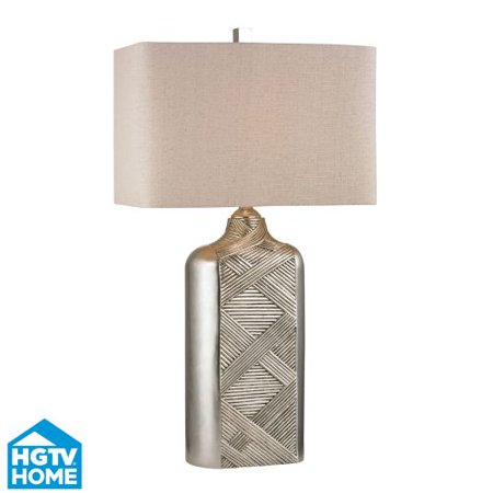 Dimond Lighting HGTV345 1 Light Table Lamp from the HGTV Ring Lamp Collection