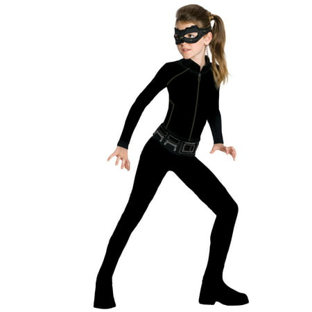 Girls Catwoman Action Suit Set