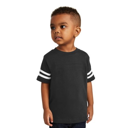 Rabbit Skins Baby Boy's Football - Rabbit Skins Football T-shirt