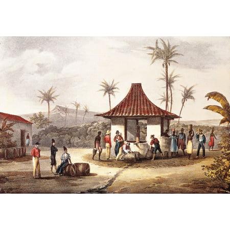 Cape Verde (19Th C Canvas Art - (24 x 18)