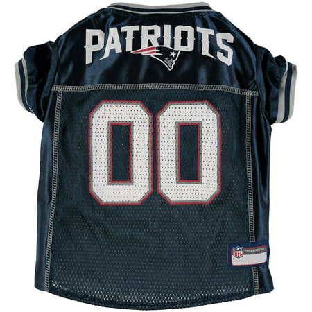 New England Patriots Mesh Dog Jersey