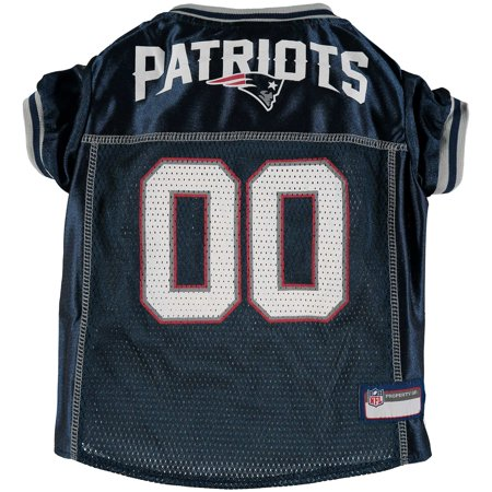 new products 015e2 37e33 New England Patriots Mesh Dog Jersey