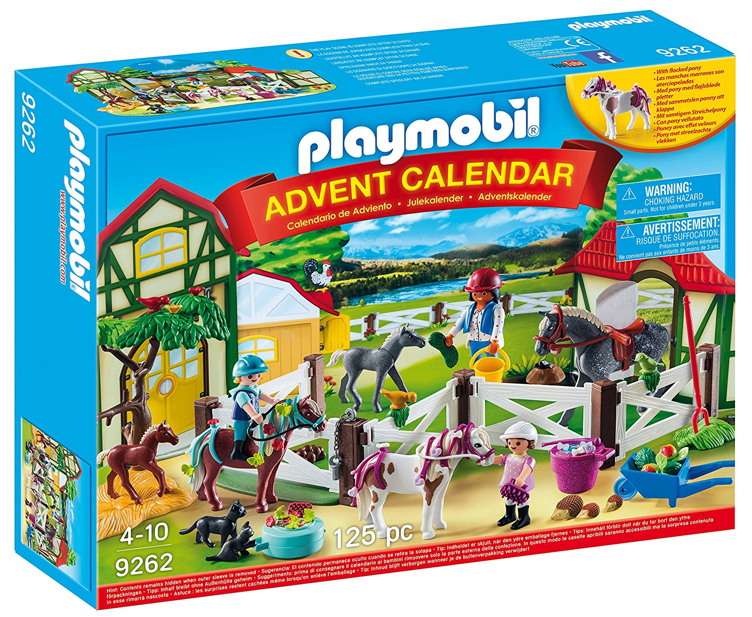 PLAYMOBIL Advent Calendar Horse Farm by PLAYMOBIL