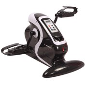 Confidence Fitness Motorized Electric Mini Exercise Bike   Pedal Exerciser Black by