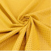 Gold Football Mesh Jersey Fabric - Style# FM734704 - Free Shipping!