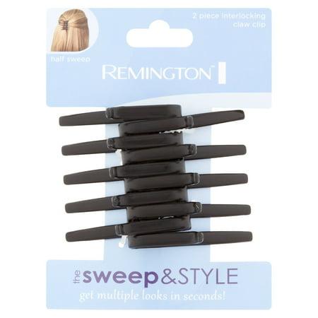 - Remington Interlocking Claw Clip, 2 count