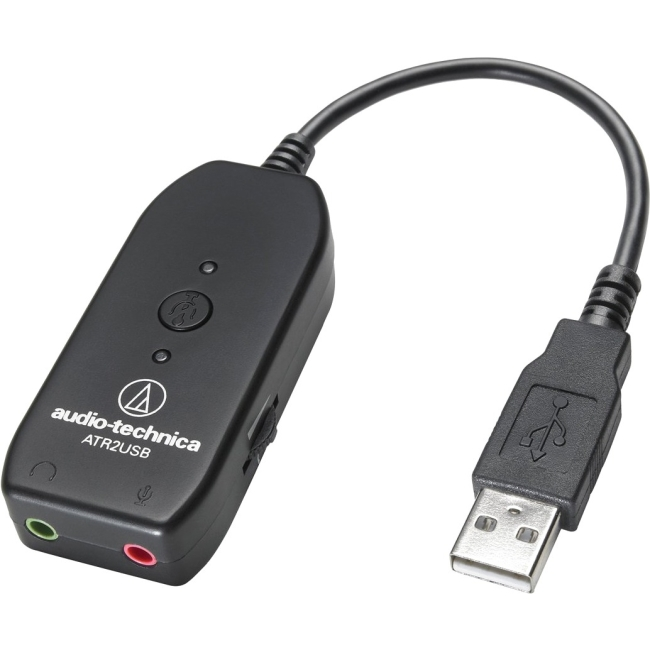 Audio-Technica 3.5 mm to USB Audio Adapter