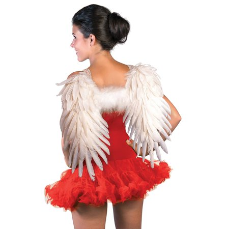 White Feather Angel Wings Halloween Costume Accessory for $<!---->