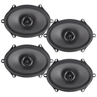 "(4) MTX THUNDER68 5x7"" / 6x8"" 480 Watt 2-Way Car Audio Coaxial Speakers"