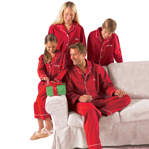 Personalized Kids Red Pajamas - Walmart.com