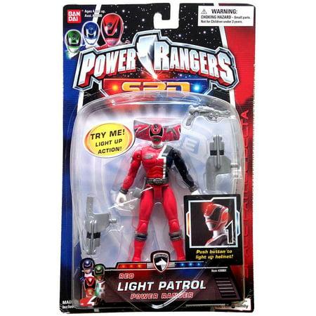 Power Rangers SPD Red Light Patrol Power Ranger Action Figure ()