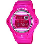 Casio Women's Baby-G Pink Resin Quartz Sport Watch BG169R-4B