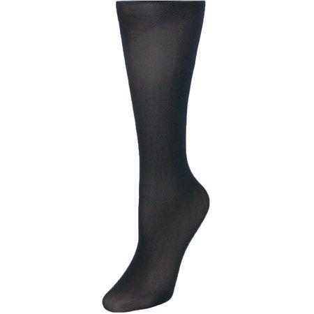 Size one size Women's Nylon Trouser Socks with Wide Top ()
