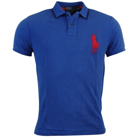 - Polo Ralph Lauren Mens Custom Fit Big Pony Mesh Polo Shirt