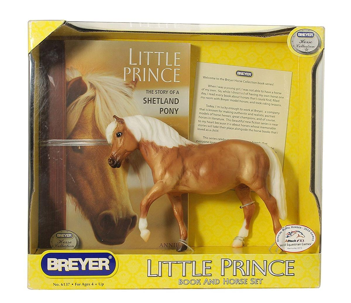 Breyer Classics Little Prince Book And Horse Toy Set 1 12 Scale Walmart Com Walmart Com