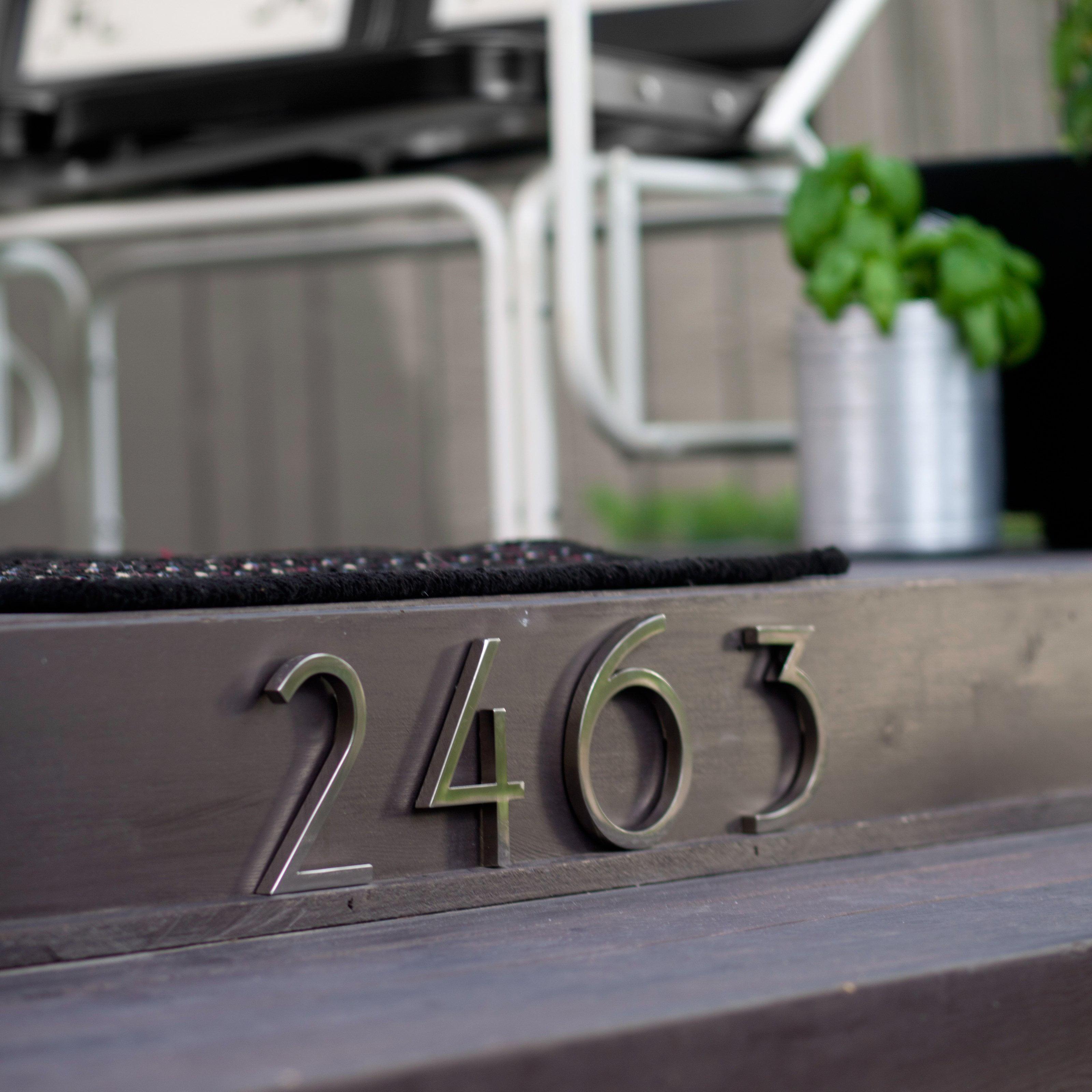 Atlas Homewares Avalon House Number