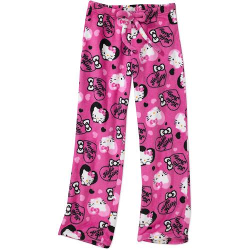 Hello Kitty - Girls' Fleece Pajama Pants