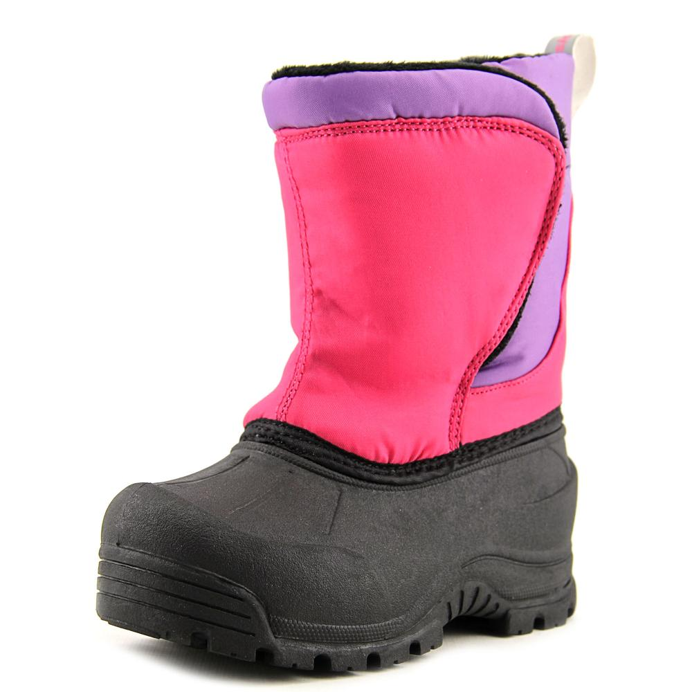 Northside Snoqualmie Toddler  Round Toe Synthetic Purple Snow Boot